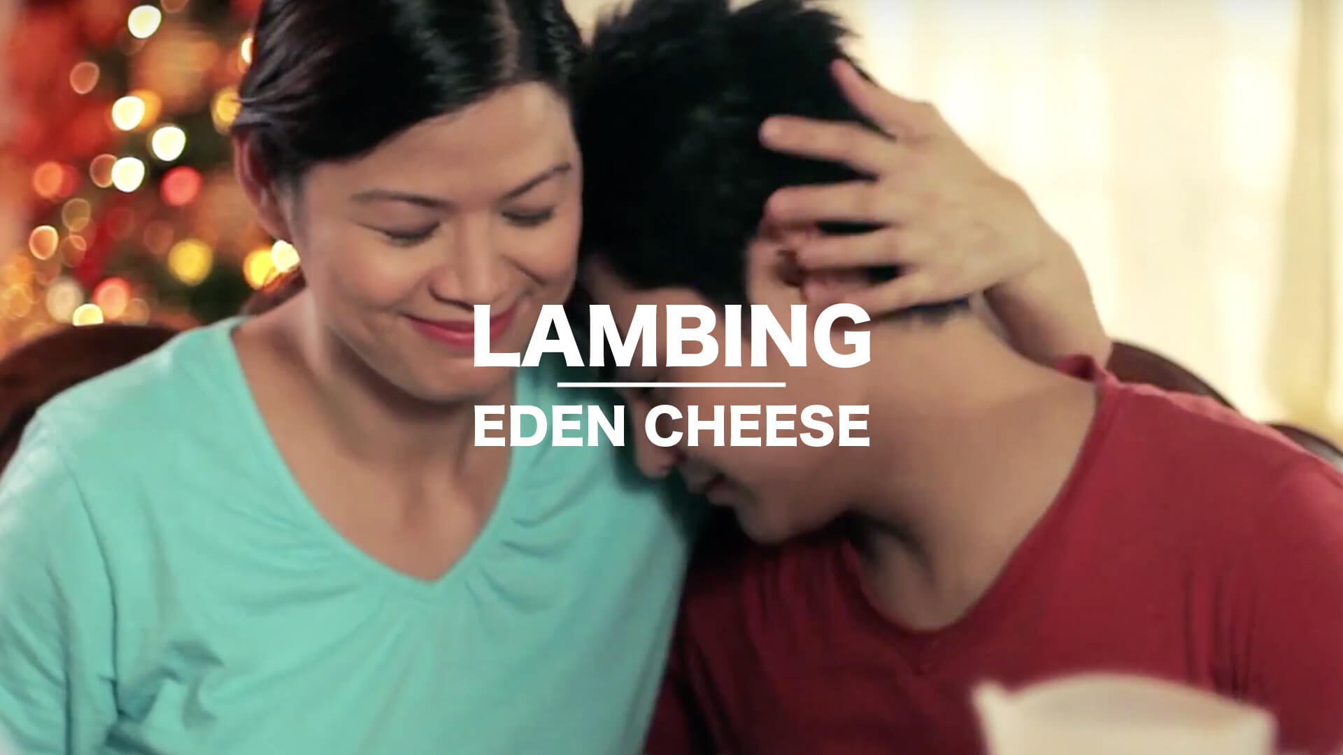 Project Lambing na Damang Dama Eden Cheese