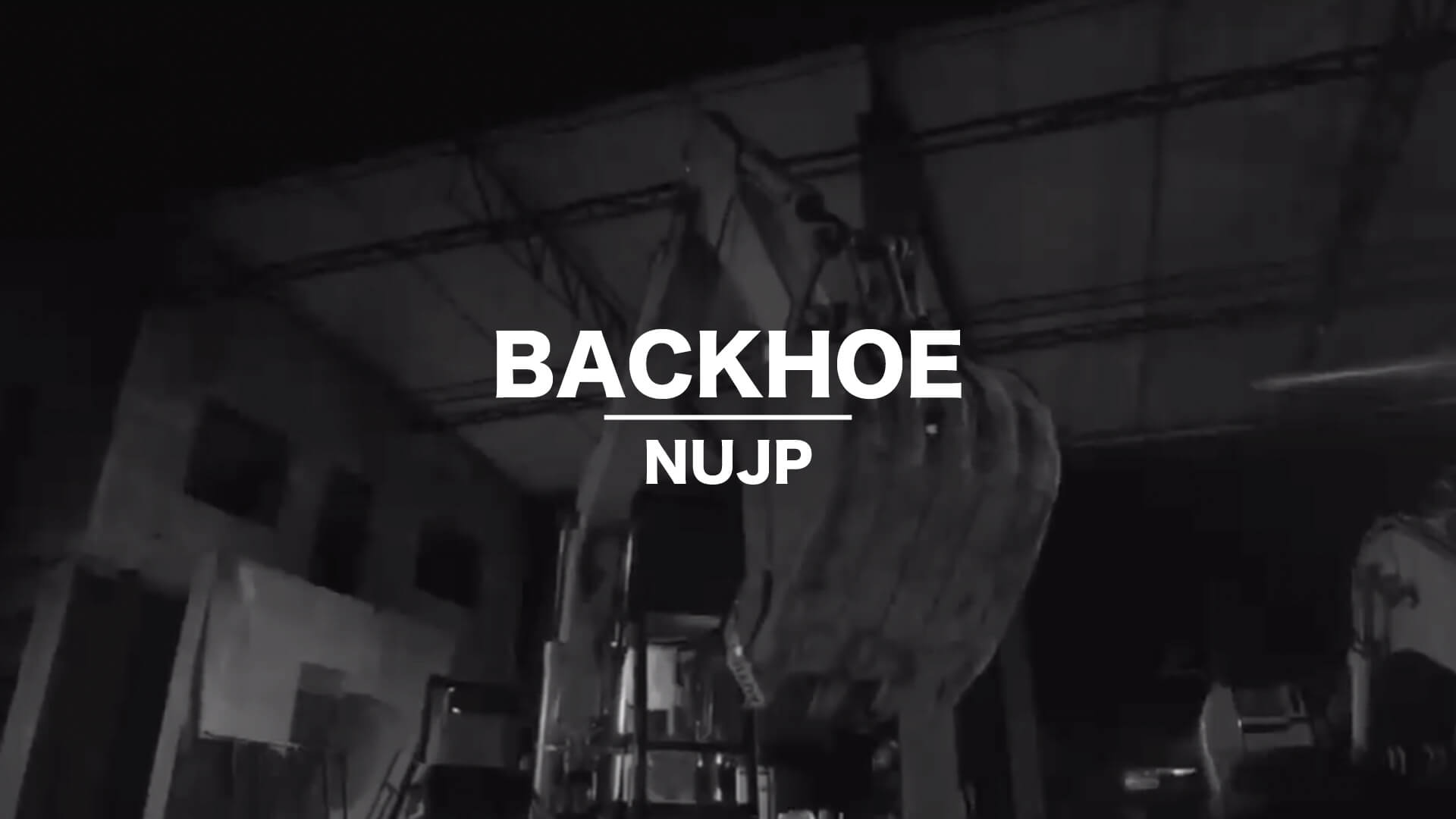 Project Backhoe NUJP