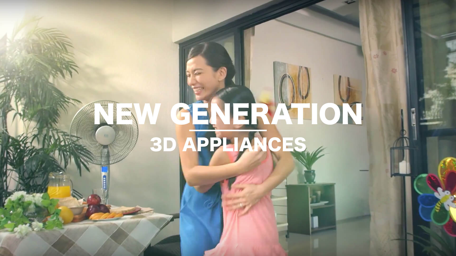 Project 3D New Generation Appliances TVC